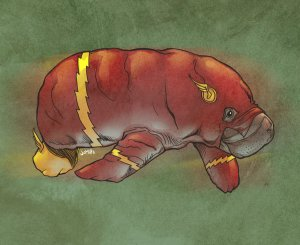 flash__the_fastest_manatee_alive__by_jharris-d57c97w - Copy