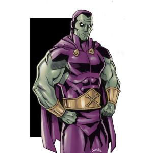 The old school comic book version of Drax. .